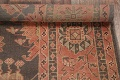 Fossil Black All-Over Muted Antique 9x11 Oushak Turkish Oriental Area Rug image 14