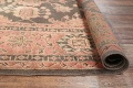 Fossil Black All-Over Muted Antique 9x11 Oushak Turkish Oriental Area Rug image 15