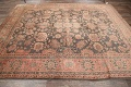 Fossil Black All-Over Muted Antique 9x11 Oushak Turkish Oriental Area Rug image 16