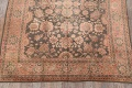 Fossil Black All-Over Muted Antique 9x11 Oushak Turkish Oriental Area Rug image 18