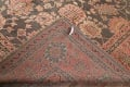 Fossil Black All-Over Muted Antique 9x11 Oushak Turkish Oriental Area Rug image 20
