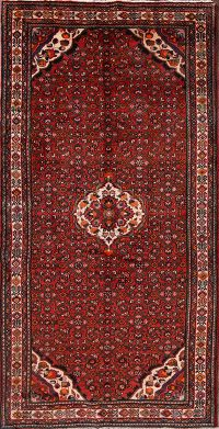 Traditional Floral 5x11 Hamadan Persian Area Rug