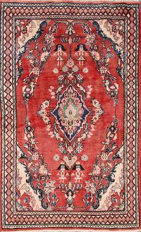 4x7 Sarouk Persian Area Rug