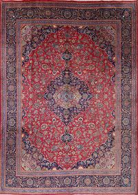 Traditional Floral 10x13 Kashmar Persian Area Rug