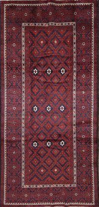 5x10 Balouch Persian Are Rug
