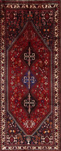 4x9 Shiraz Persian Rug Runner