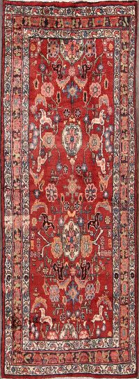 3x9 Malayer Hamadan Persian Rug Runner