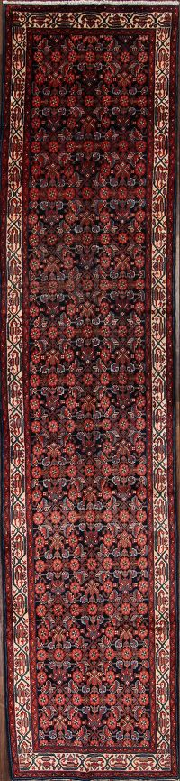 4x17 Malayer Hamdan Persian Rug Runner