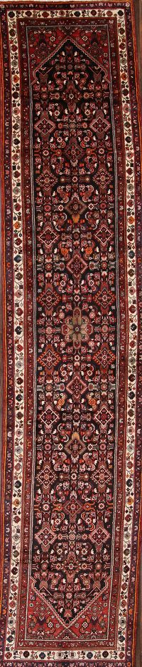 4x18 Malayer Hamadan Persian Rug Runner