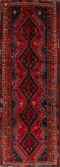 4x11 Shiraz Persian Runner Rug
