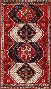 4x7 Shiraz Abadeh Persian Area Rug