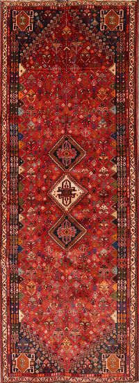 3x9 Abadeh Shiraz Persian Rug Runner