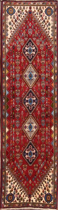 2x8 Abadeh Shiraz Persian Rug Runner