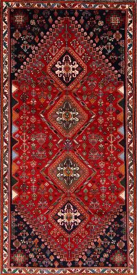 4x7 Abadeh Shiraz Persian Area Rug