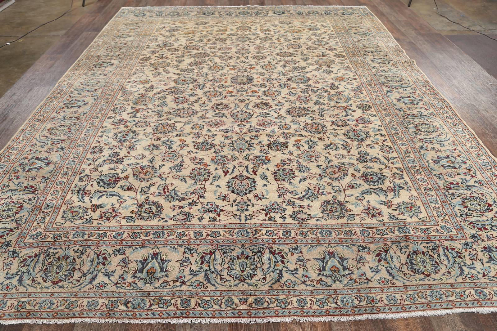 10x13 Kashan Persian Area Rug