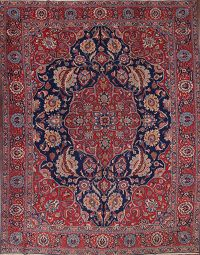Antique Vegetable Dye 10x13 Tabriz Persian Area Rug
