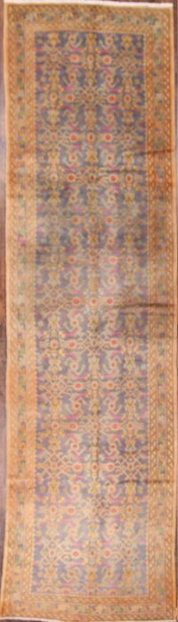 4x13 Hamedan Malayer Persian Runner Rug