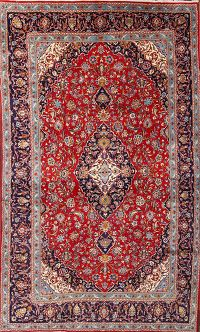 8x13 Kashan Persian Area Rug