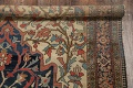 Pre-1900 Antique Floral Sarouk Farahan Persian Hand-Knotted 4'x7' Wool Area Rug image 19