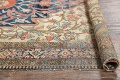 Pre-1900 Antique Floral Sarouk Farahan Persian Hand-Knotted 4'x7' Wool Area Rug image 20