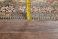 Pre-1900 Antique Floral Sarouk Farahan Persian Hand-Knotted 4'x7' Wool Area Rug image 21