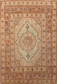 4x6 Tabriz Persian Area Rug