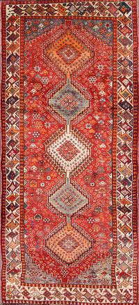 4x9 Yalameh Shiraz Persian Rug Runner