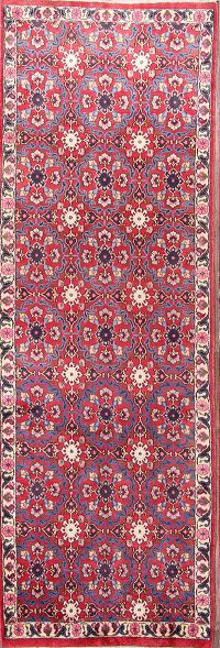All-Over Floral Varamin Persian Runner Rug 3x9