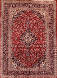 9x13 Kashan Persian Area Rug