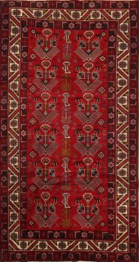 Afshar Sirjan Persian Wide Runner Rug