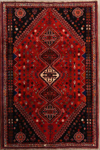 7x10 Abadeh Shiraz Persian Area Rug