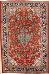 7x10 Sarouk Persian Area Rug