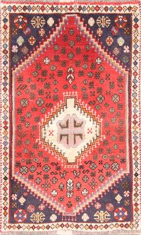 Geometric 2x4 Shiraz Persian Area Rug