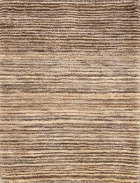 Striped Gabbeh Shiraz Persian Modern Rug 3x4