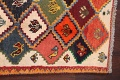 Tribal Geometric Gabbeh Shiraz Persian Hand-Knotted Area Rug Wool 5x6 image 9
