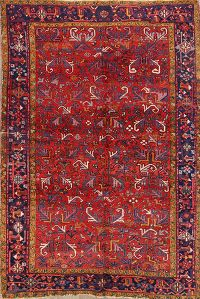 7x11 Heriz Persian Area Rug