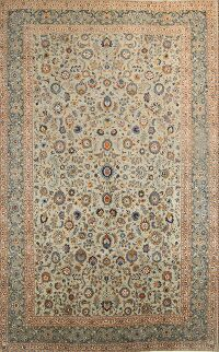 11x18 Kashan Persian Area Rug