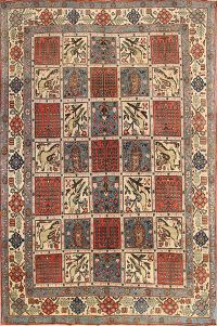 5x7 Qum Persian Area Rug