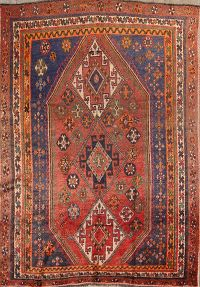 5x8 Lori Shiraz Persian Area Rug