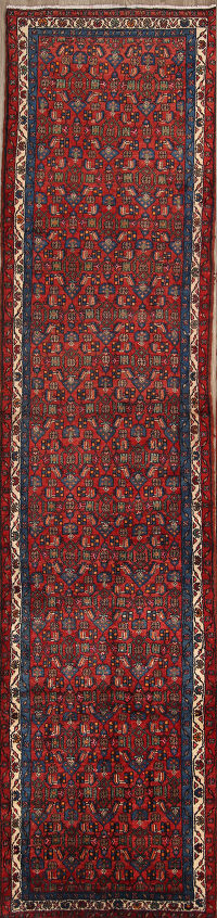 3x13 Malayer Hamadan Persian Rug Runner