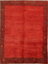 6x8 Gabbeh Shiraz Persian Area Rug