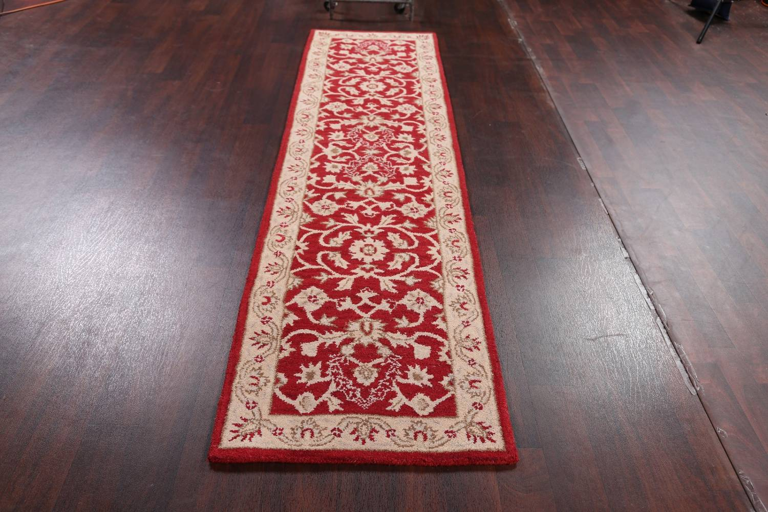 All-Over Floral Red Oushak Agra Oriental Area Rug image 5