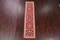 All-Over Floral Red Oushak Agra Oriental Area Rug image 2