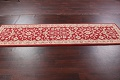 All-Over Floral Red Oushak Agra Oriental Area Rug image 4