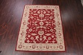 All-Over Floral Red Oushak Agra Oriental Area Rug image 8