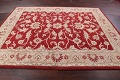 All-Over Floral Red Oushak Agra Oriental Area Rug image 10