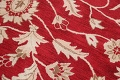 All-Over Floral Red Oushak Agra Oriental Area Rug image 12