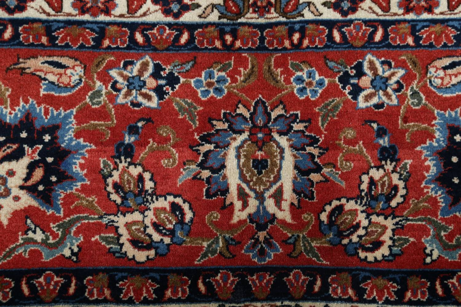 Floral 9x13 Isfahan Persian Area Rug image 8