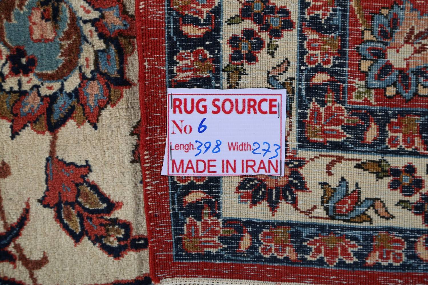 Floral 9x13 Isfahan Persian Area Rug image 22
