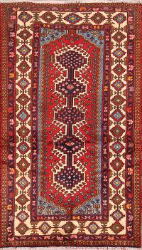 3x5 Yalameh Shiraz Persian Area Rug
